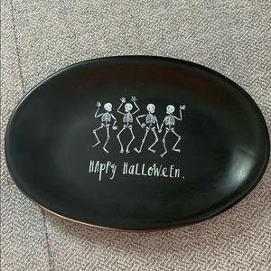 Rae Dunn Halloween Skeleton Trinket Dish 💀